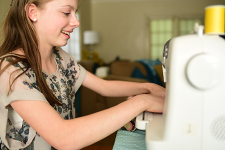 Beginner machine sewing classes